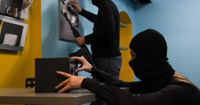 Gürcüstanda bank qarət olunub