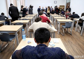 Media tour observes exam process in ASOIU and UFAZ - PHOTO REPORT