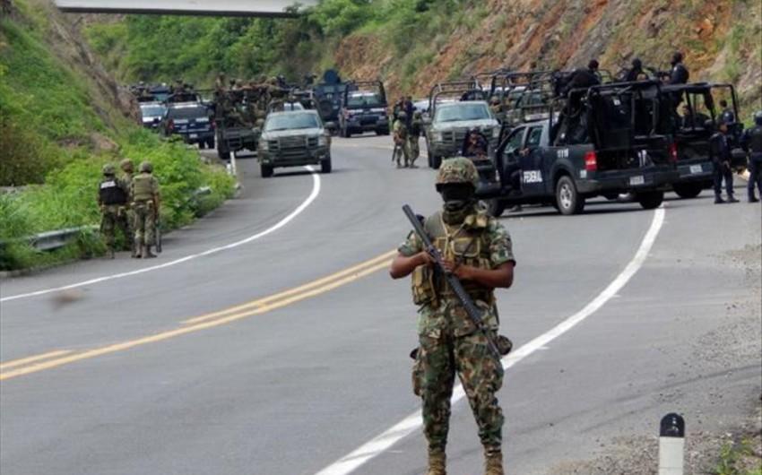 Meksikada hərbçilərə silahlı hücum edilib, 7 nəfər ölüb