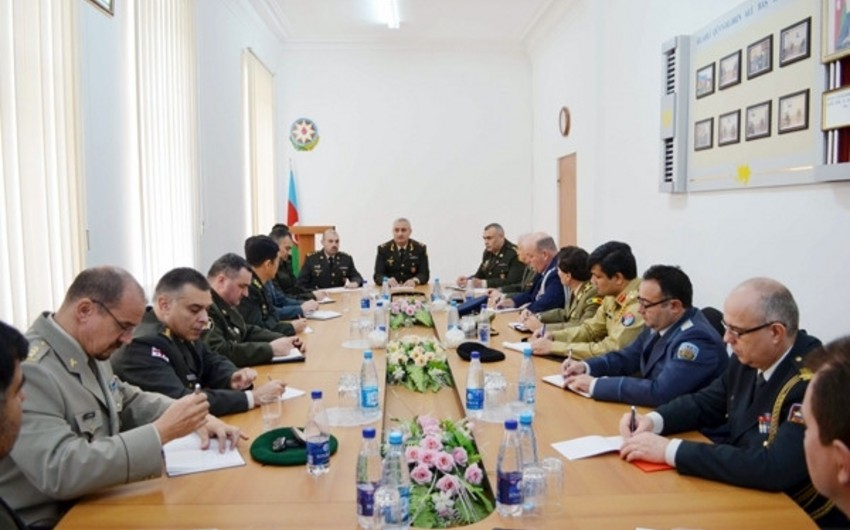 Azerbaijan MD: Enemy's combat helicopter shot down with IQLA portable anti-aircraft missile complex