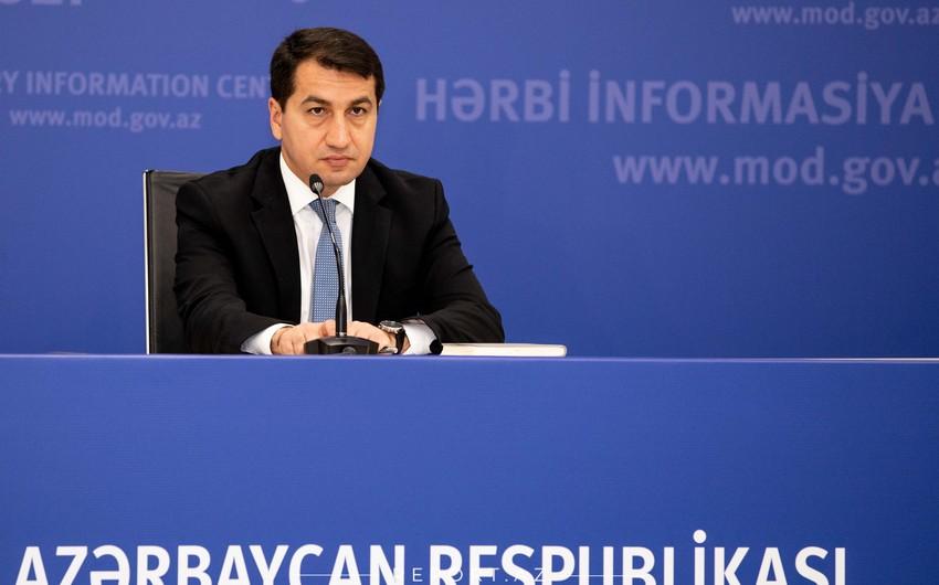 Prezidentin köməkçisi: Azərbaycan HHQ düşmənin atdığı raketlərin çoxunu havada məhv edir