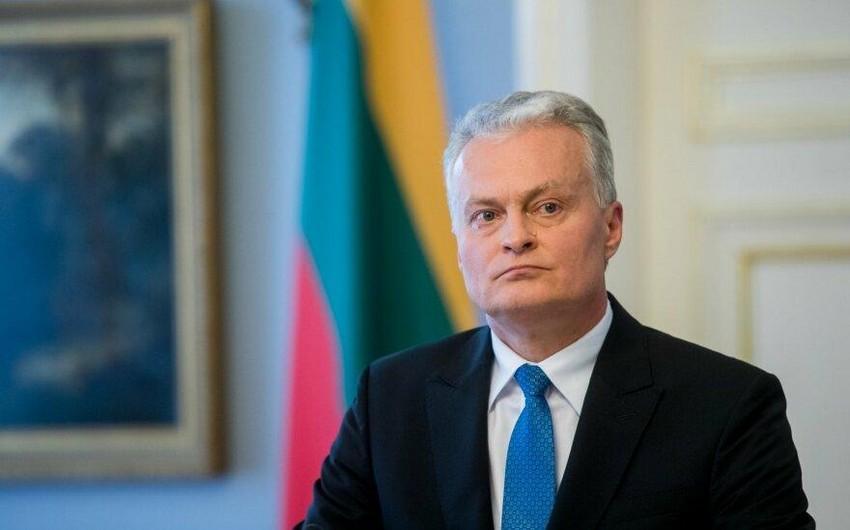 Litva prezidenti Gürcüstana ilk rəsmi səfər edəcək