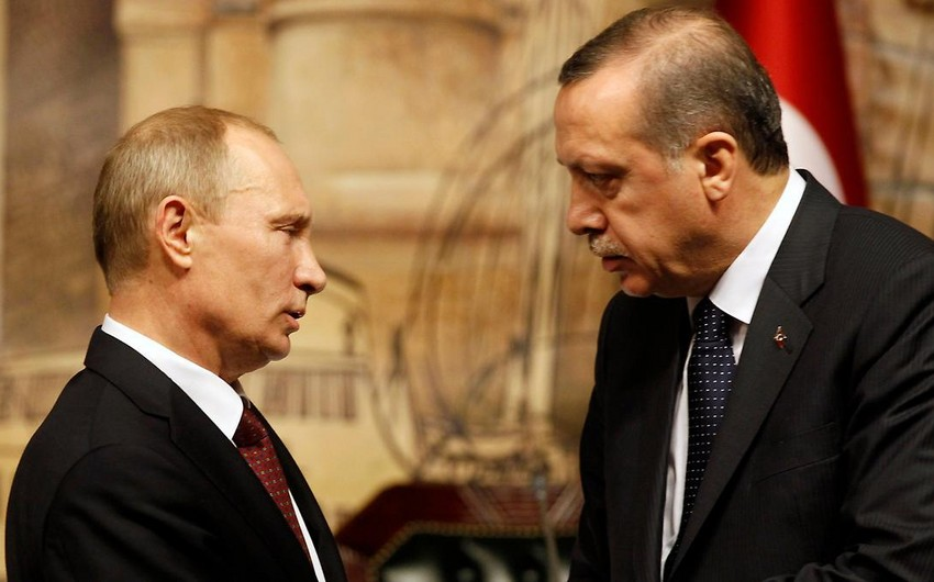 Путин обсудит с Эрдоганом ситуацию в Сирии