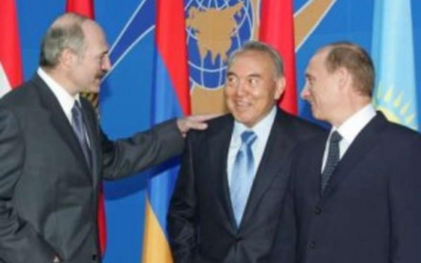 Qazaxıstan, Rusiya və Belarus prezidentlərinin görüş tarixi dəyişdirilib