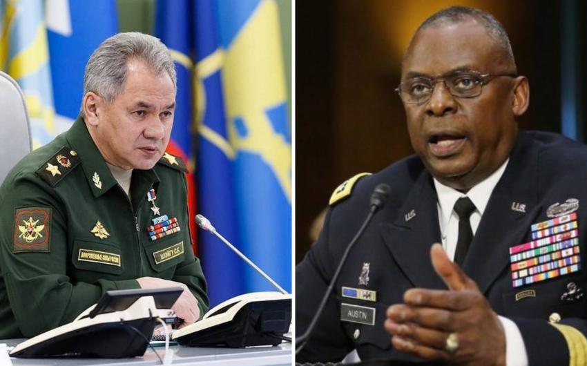 ABŞ və Rusiya müdafiə nazirləri telefonla danışıb