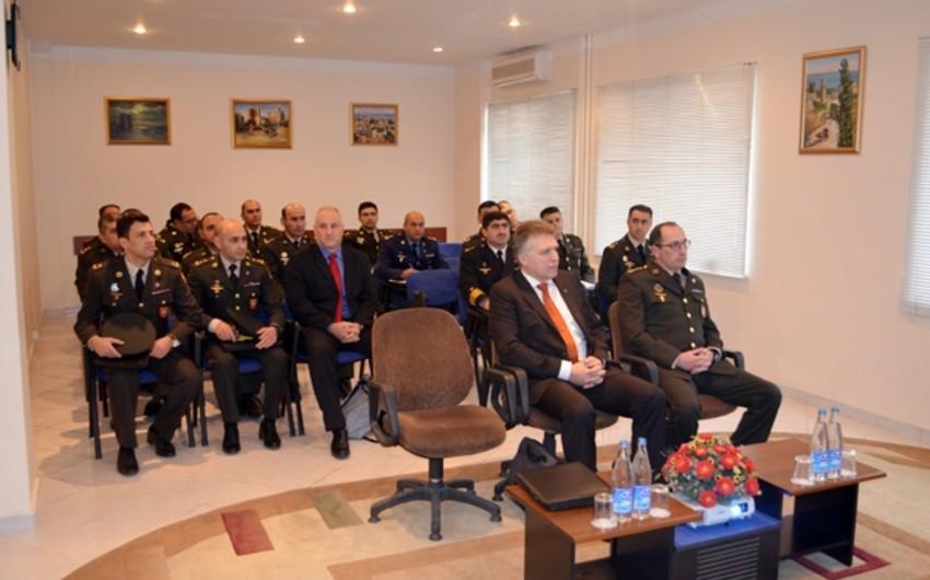 """Bakıda NATO-nun ekspert qrupu tərəfindən """"Standartlaşdırma və uzlaşma"""" seminarı keçirilir"""