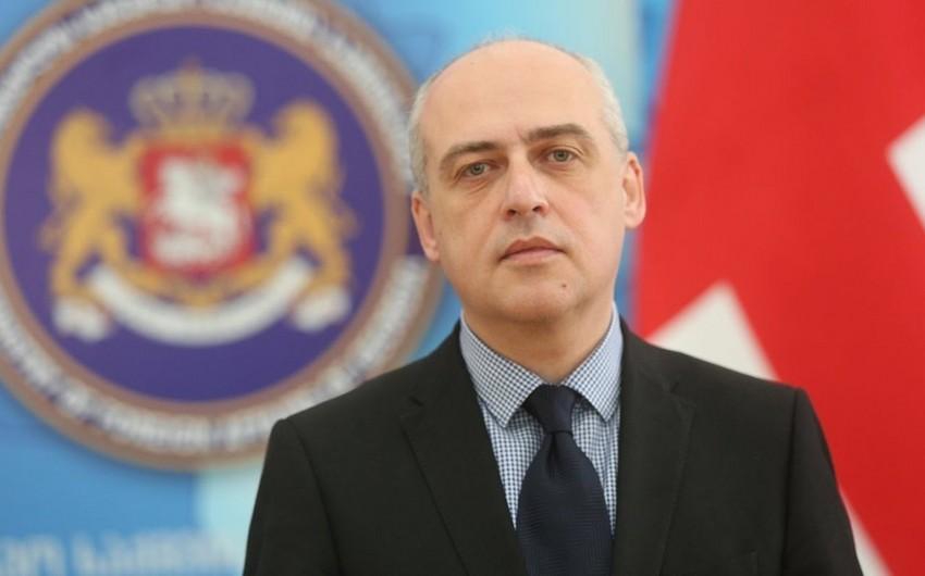 Gürcüstanın XİN başçısı: Azərbaycanla sərhəd danışıqlarında rasional nəticə əldə etmək istəyirik