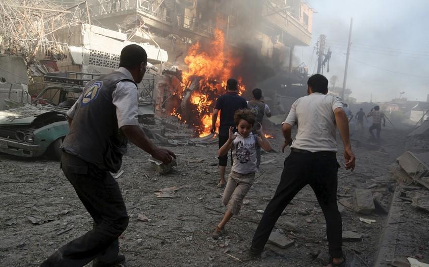 Hələbdə terror aktı nəticəsində ölənlərin sayı 100 nəfəri ötüb - YENİLƏNİB-2