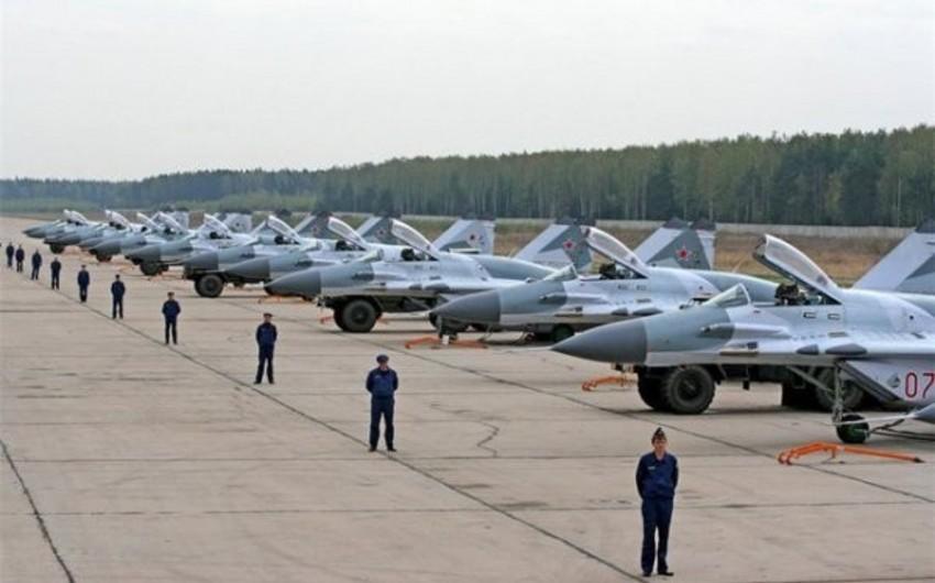 Rusiyanın İrəvandakı hərbi bazasında pilotlara təlim kursları keçirilir
