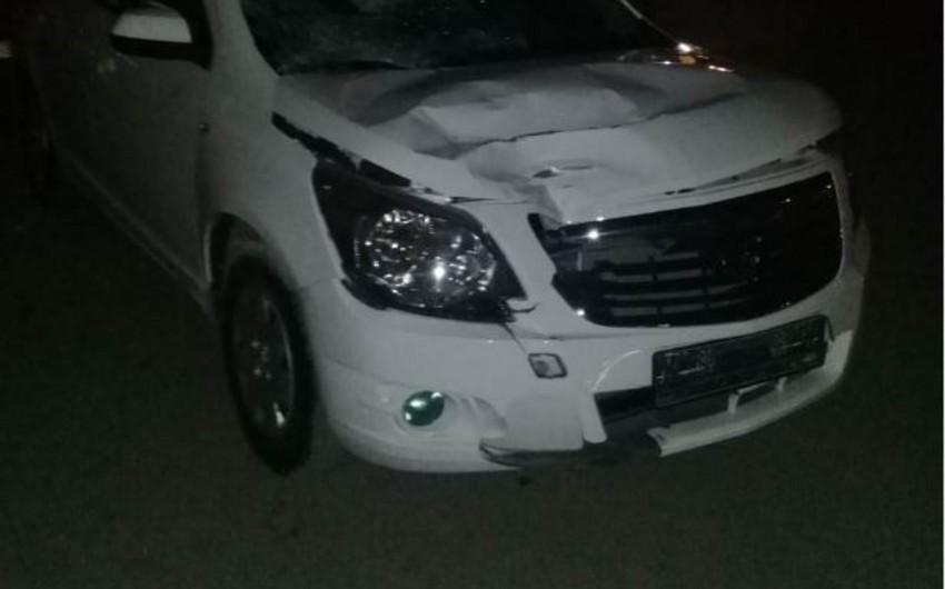 Bakıda avtomobil 37 yaşlı piyadanı vurdu - FOTO