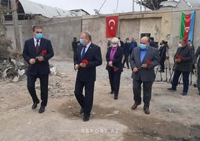 Посол Беларуси в Азербайджане находится в Гяндже