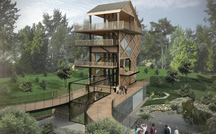Future look of Baku Zoo after reconstruction - PHOTO