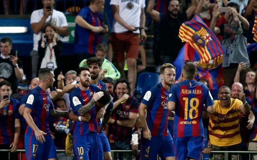 Barselona ardıcıl üçüncü dəfə İspaniya Kubokunu qazanıb - VİDEO
