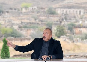 Ilham Aliyev: We have brought the day of former IDPs' return to their native lands closer