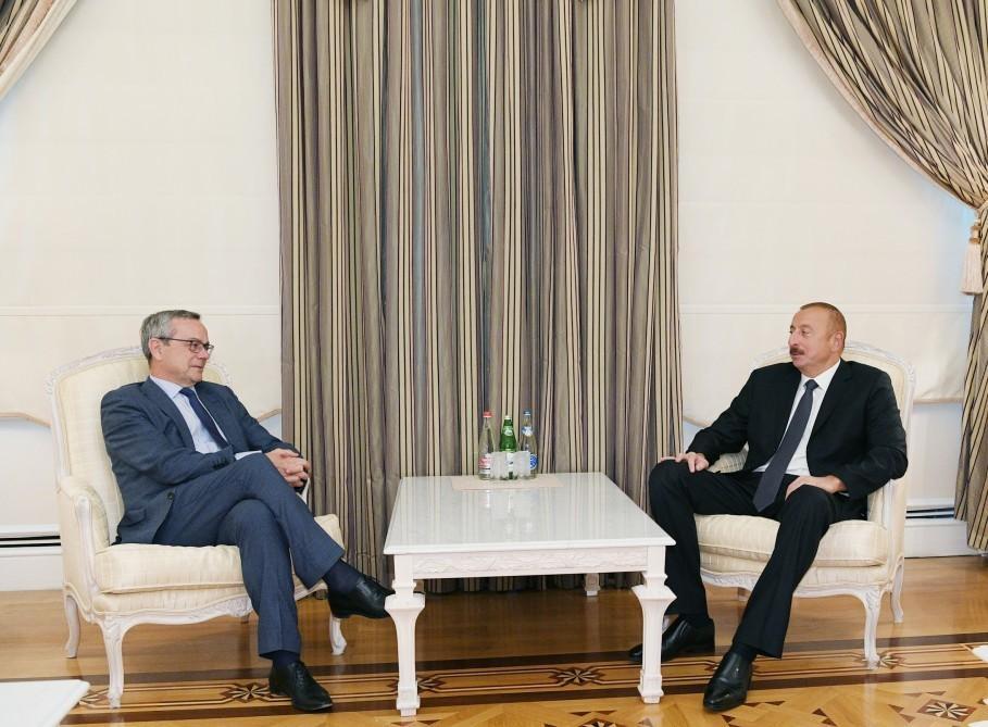 Президент Ильхам Алиев принял председателя Парламентской Ассамблеи НАТО
