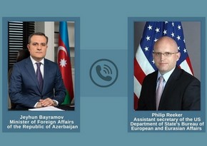 Jeyhun Bayramov, US official discuss situation on Azerbaijani-Armenian border