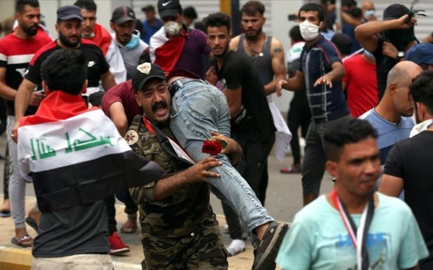 ООН: При протестах в Ираке погибли 424 человека