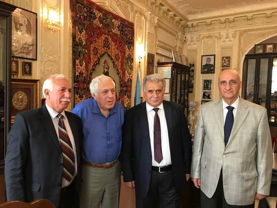 Azərbaycan Yazıçılar Birliyinin Moskva bölməsinə yeni sədr təyin olunub