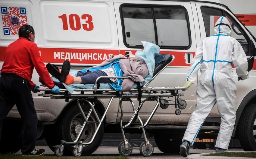 Rusiyada bir gündə 8,6 minə yaxın şəxsdə koronavirus aşkarlandı