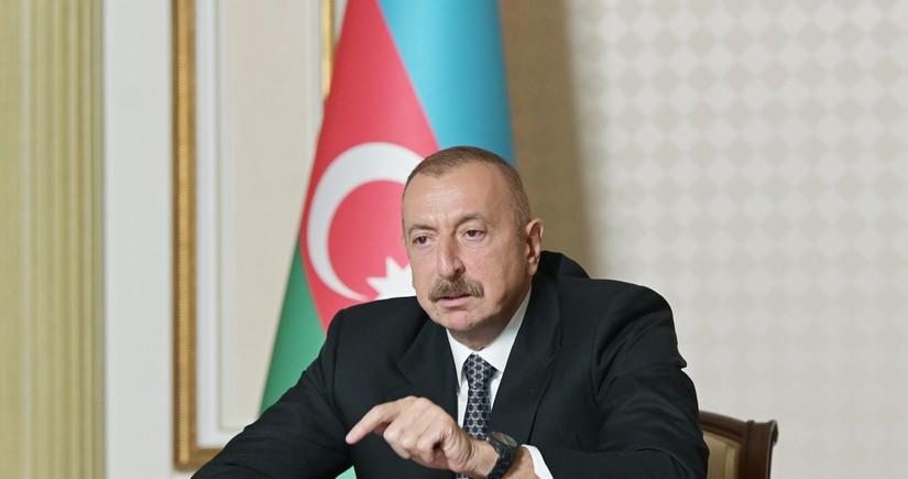 """Azərbaycan Prezidenti: """"Həmin o """"İskəndər"""" raketlərini Ermənistan pulla alıb? Pulsuz alıb"""""""