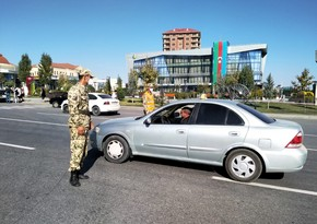 Qubada polis gücləndirilmiş iş rejimində xidmət aparır