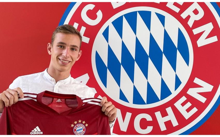Bavariya 16 yaşlı futbolçunu transfer edib