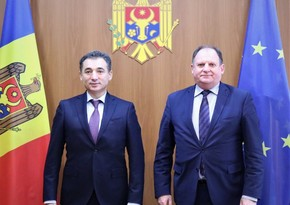 Moldovan state secretary mulls cooperation issues with Azerbaijani envoy