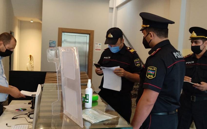Qaxda hotellərdə COVID-19 pasportu ilə əlaqədar yoxlamalar keçirilib