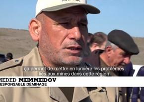 """""""France 24"""" Qarabağda aparılan quruculuq işlərinə dair reportaj yayımlayıb"""