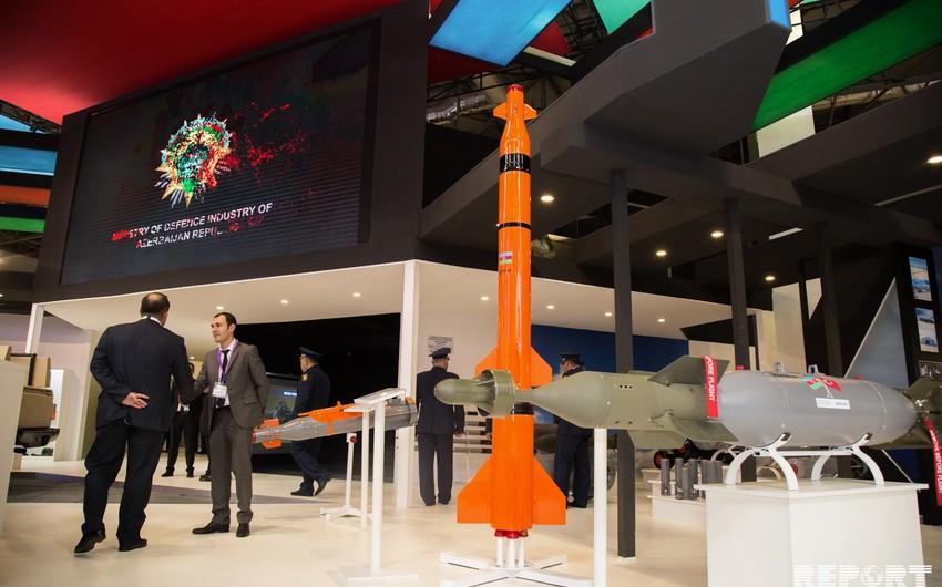 Azerbaijan produced self-guided aerial bomb