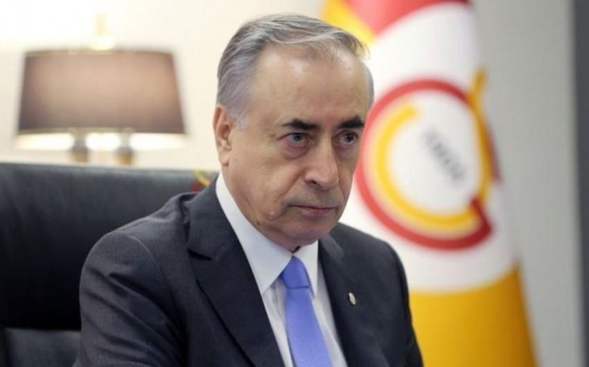Qalatasarayın prezidenti xəstəxanaya yerləşdirildi