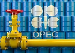 OPEC hasilatı 1,9 mln barel azaldıb