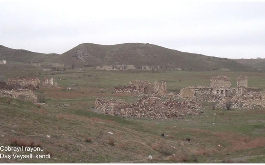 Cəbrayılın Daş Veysəlli kəndinin görüntüləri - VİDEO