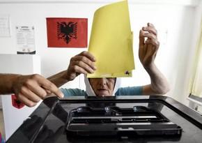 """""""Exit poll"""": Albaniyada parlament seçkilərində hakim partiya qalib gəlib"""