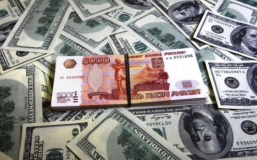 Rusiyada dolların məzənnəsi 60 rublu ötüb