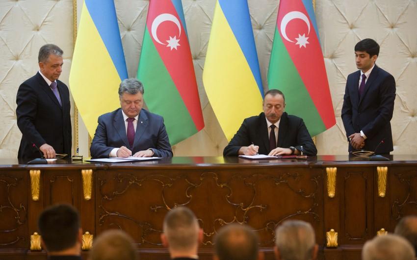 Azərbaycan və Ukrayna arasında bir sıra ikitərəfli sənədlər imzalanıb