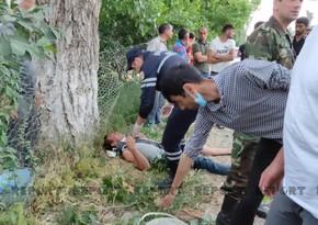 В Хачмазе мужчина пытался покончить с собой