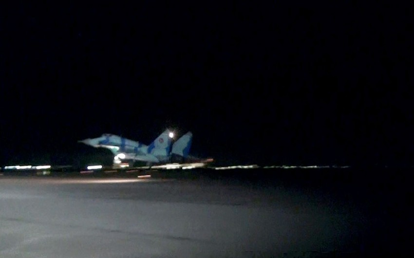 Air Force holds night exercises