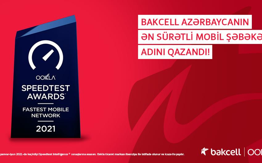 """""""Bakcell"""" Azərbaycanın ən sürətli mobil şəbəkəsi elan olundu"""