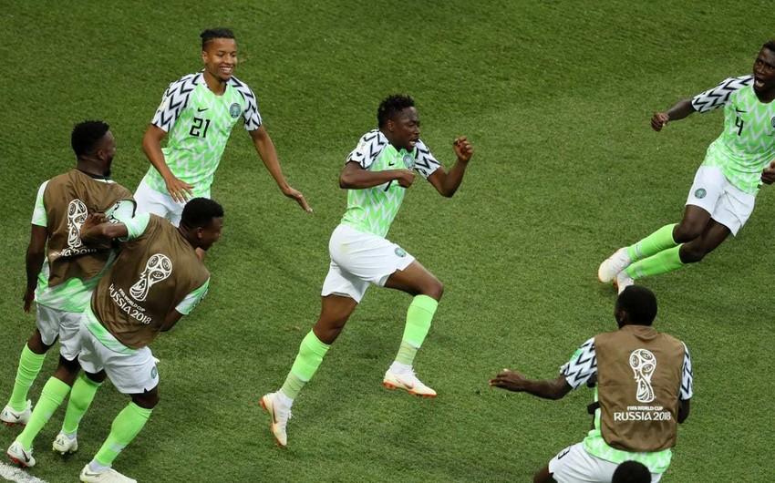 DÇ-2018: Nigeriya İslandiyanı məğlub edib