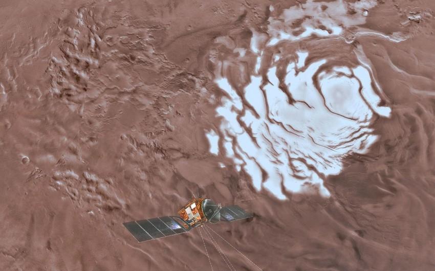 Астрономы определили изотопный состав воды в атмосфере Марса