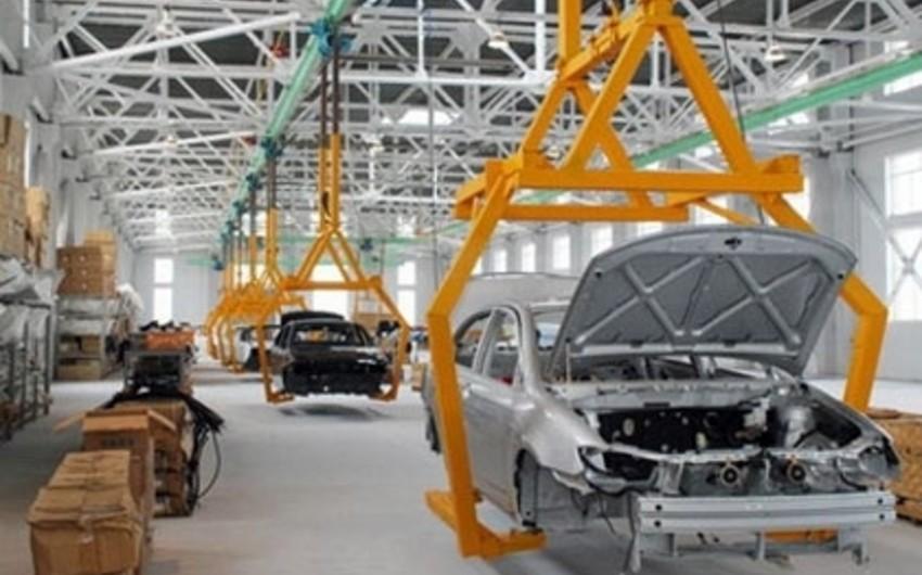 Azərbaycanda maşın və avadanlıqların istehsalı 31,7% azalıb