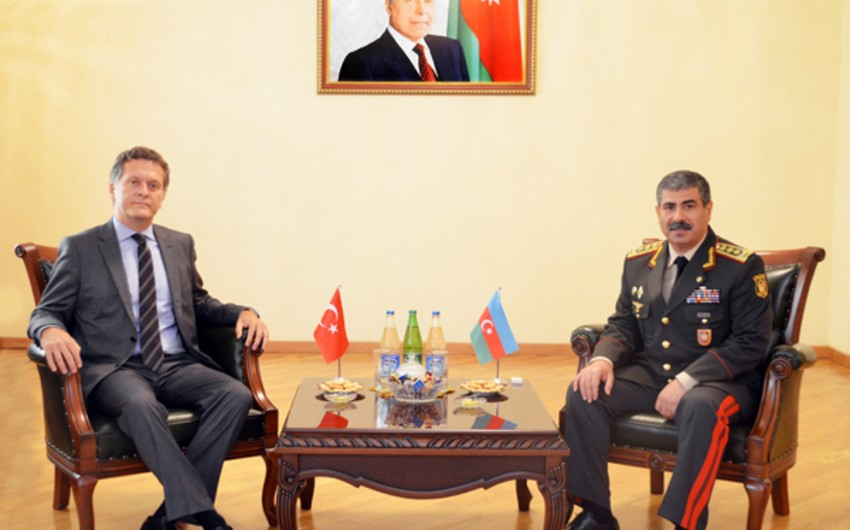 Defense Minister met with the Turkish Ambassador to Azerbaijan