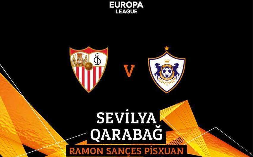 Qarabağ azarkeşləri Sevilya ilə oyunun biletini 35 avroya ala bilərlər