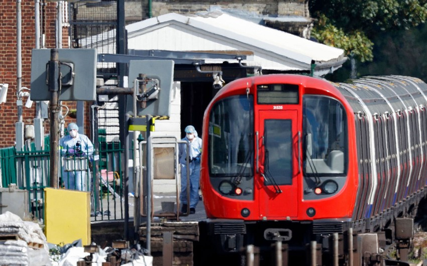 Young man suspected of London Underground terrorist act detained