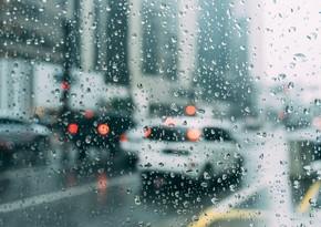 Завтра в Азербайджане ожидаются дожди, град