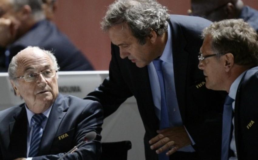 Blatter və Platini 8 il müddətinə vəzifələrindən kənarlaşdırılıb