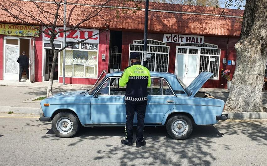 Yol polisi İsmayıllıda reyd keçirib, 15 sürücü cərimələndi