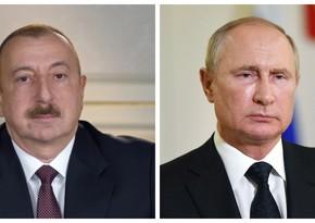 Ilham Aliyev, Vladimir Putin hold telephone conversation