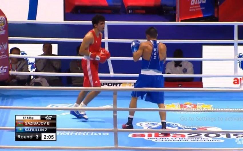 Azərbaycan boksçusu dünya çempionatında məğlub olub